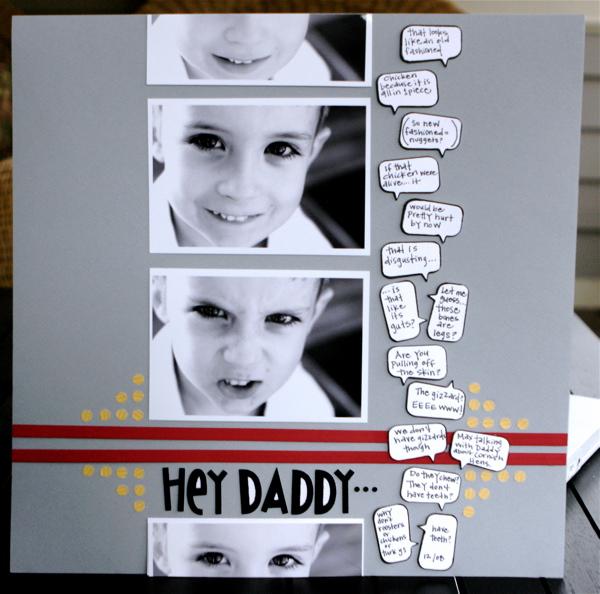 Hey daddy lo