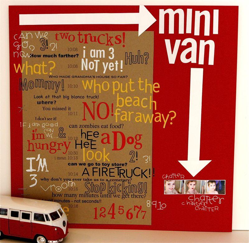 Minivan chatter LO