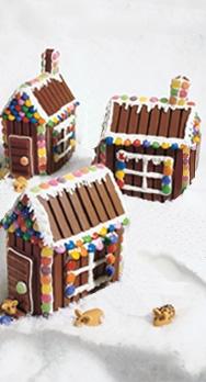 Kellicrowe Christmas Building A Kit Kat House
